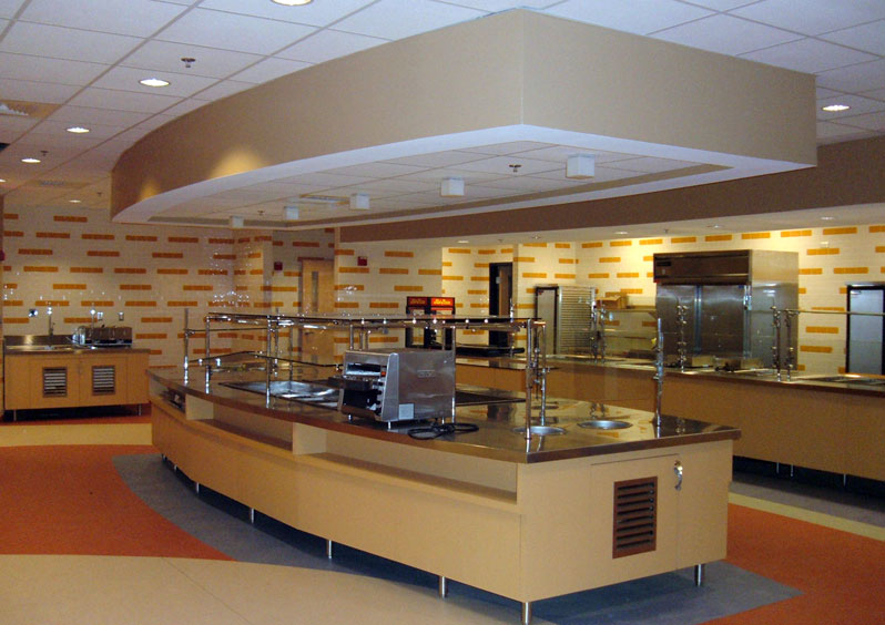 Boston scientific cafeteria brophy and phillips inc Restaurant kitchen layout design software